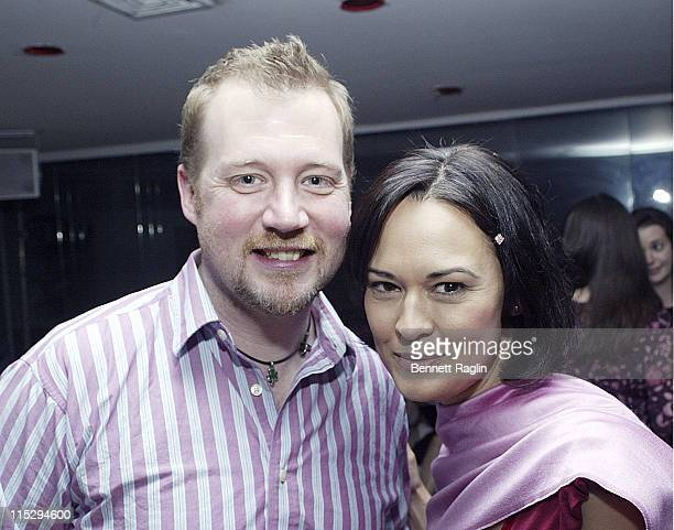 Frizte Brekeller and Sideny Penny during Macia Tovsky's 17th Annual Day Time Soaps Pre-Emmy Party - April 19, 2006 at Nikki Beach Manhattan in New...