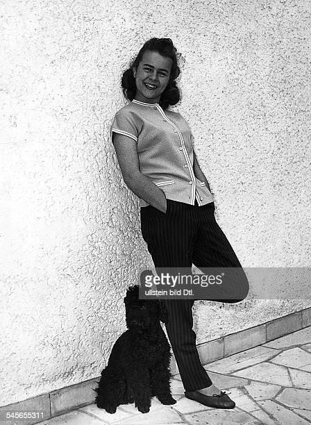 Froboess Cornelia *Saengerin Schauspielerin Dals Jugendliche 1957