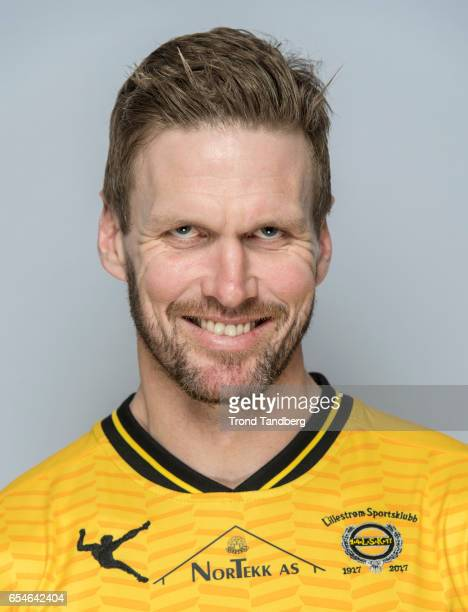Frode Kippe of Team Lillestrom Sportsklubb LSK during Photocall on March 17 2017 in Lillestrom Norway