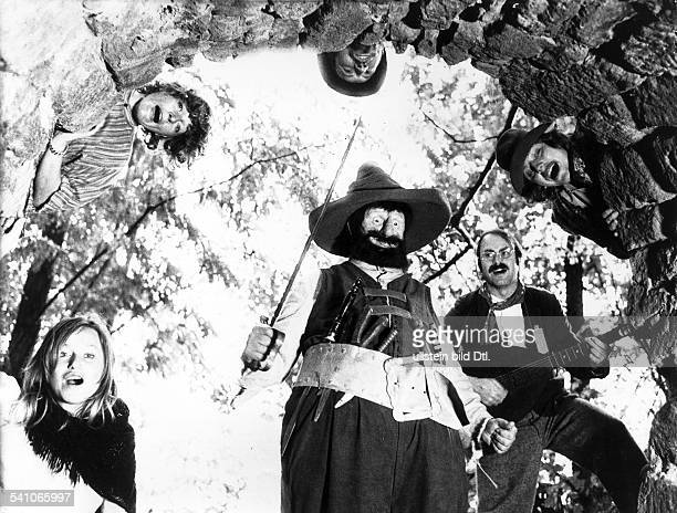 Froebe Gert * Schauspieler D in der Rolle des 'Raeuber Hotzenplotz'Regie Gustav Ehmck D 1973