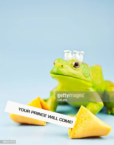 Frog Prince with Fortune Cookie Message