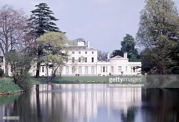 Frogmore House in the grounds of Home Park Windsor a Royal retreat and mausoleum circa 1970