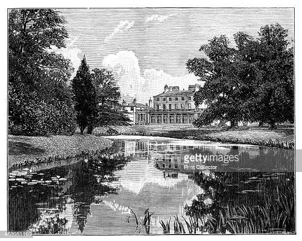 Frogmore House near Windsor Castle Berkshire Engraving from a photograph Illustration from The Life Times of Queen Victoria by Robert Wilson Vol III