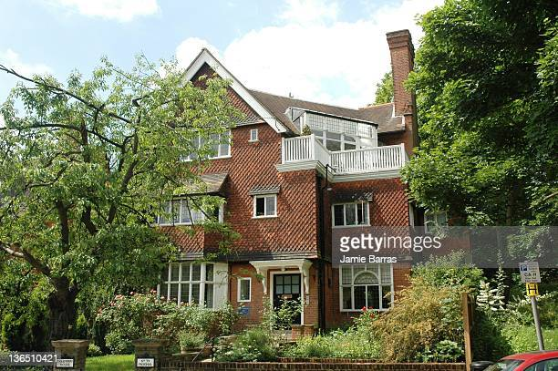 Frognal NW3 , Frognal, Hampstead, London. Built for the illustrator Kate Greenaway.