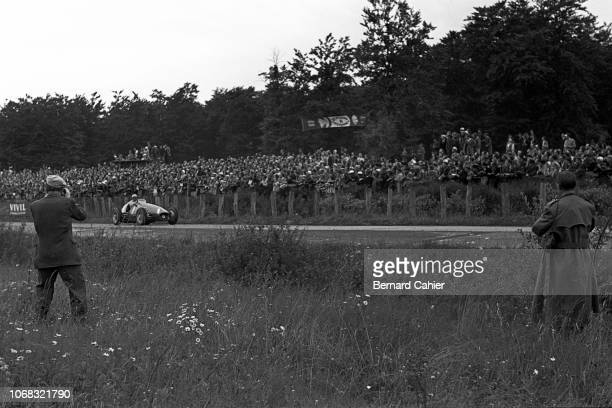 Froilan Gonzalez, Ferrari 625, Grand Prix of Germany, Nurburgring, 01 August 1954.