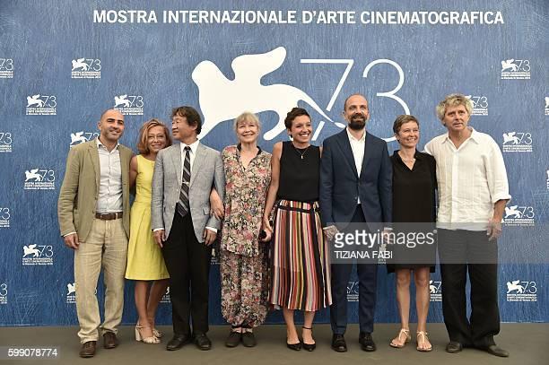 Paola Malanga scientist Shin Kubota actress Marina Vlady director and producer Martina Parenti director and producer Massimo D'Anolfi Sabina Scharer...