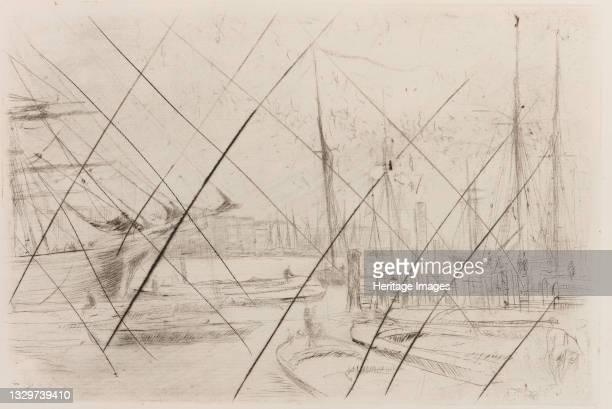 From Billingsgate, 1878. Artist James Abbott McNeill Whistler.