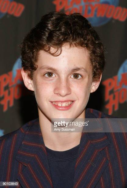 From Billy Elliot actor Trent Kowalik visits Planet Hollywood Times Square on August 26 2009 in New York City