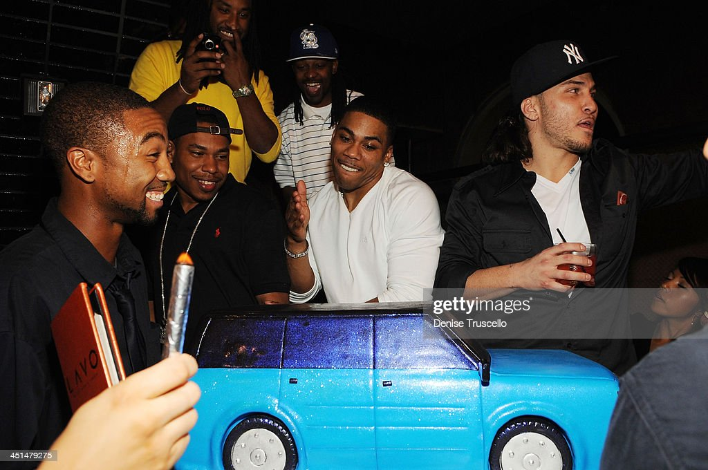 Ford Flex Hosts Nelly's Surprise Birthday Party : News Photo