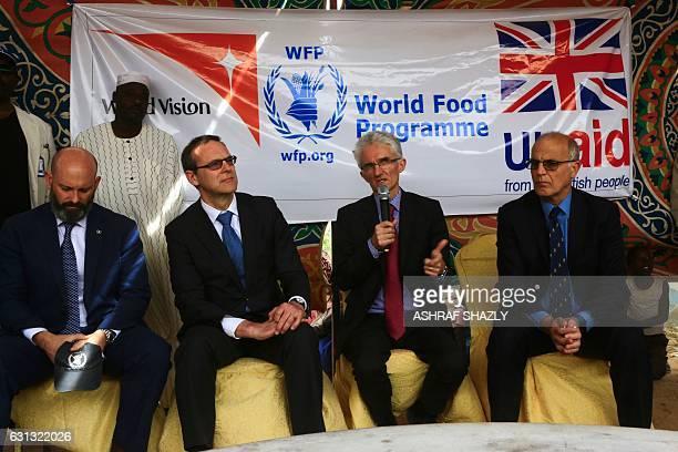 From British Ambassador to Sudan Mark Local General Secretary of the Department of International Developments Simon Macdonald UnderSecretary at the...