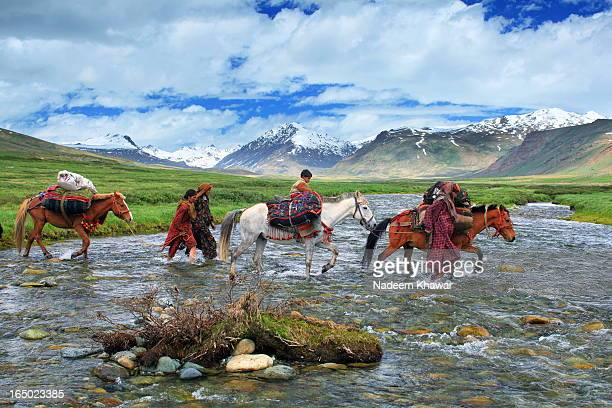 From centuries Shepherd also called Gujars from lower areas of Punjab and KP travels upward to Deosai plains with there sheep , goats and horses to...