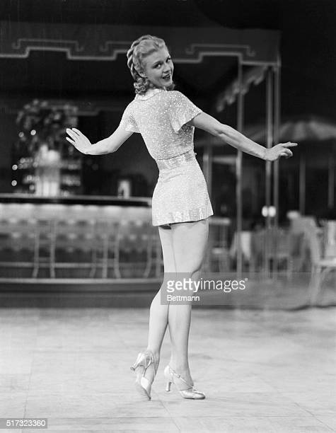 From Charleston contest winner to glittering movie star That is the story of Ginger Rogers vivacious RKO actress who because of her excellent work...