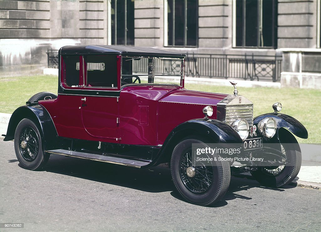 Rolls-Royce Twenty motor car, 1928. Pictures | Getty Images