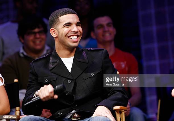 From Degrassi Aubrey Graham speaks at the Spring Awakening and Degrassi panel discussion with Rosie O'Donnell at the Eugene O'Neill Theater on April...