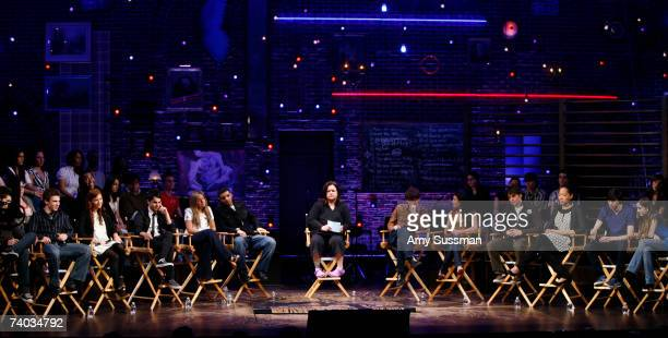 From Degrassi Mike Lobel Shane Kippel Stacey Farber Adamo Ruggiero Lauren Collins Aubrey Graham and Rosie O'Donnell and from Spring Awakening John...