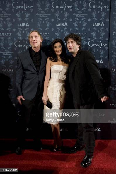 From Director Henry Selick Voice Actor Teri Hatcher And Author Neil News Photo Getty Images