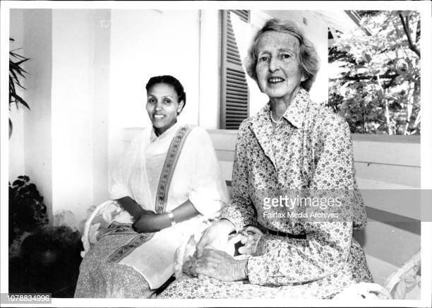 From Fistula Hospital in Ethiopia, Dr. Catherine Hamlin and Mamitu Gashi. March 15, 1994. .