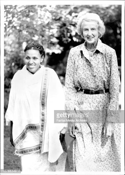 From Fistula Hospital in Ethiopia Dr Catherine Hamlin and Mamitu Gashi ***** was stillborn because of the obstructed labour She got a fistula a hole...