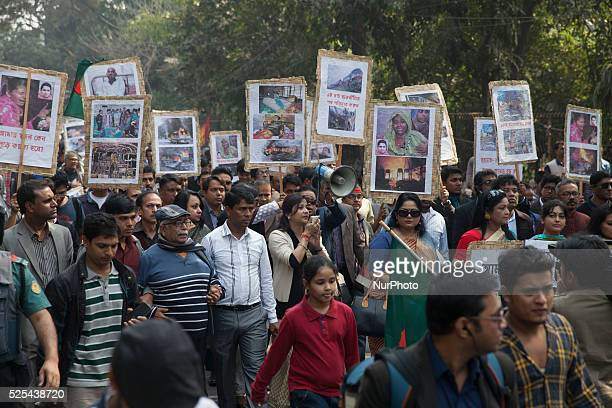 From general people and activist stage a protest at Central Shahid Minar in Dhaka against the blockade imposed by the BNP lead 20 party Protesters...