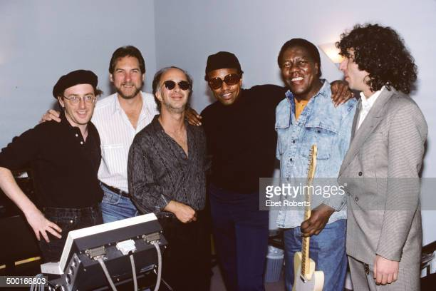 From Glenn Berger, Steve Cropper, Paul Shaffer, Bobby Womack, Don Covay and Murray Weinsted at Krypton Studio in New York City recording with Paul...