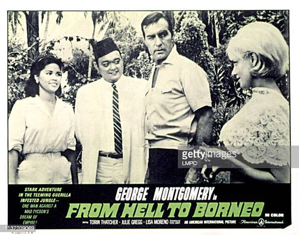 From Hell To Borneo lobbycard Lisa Moreno George Montgomery Julie Gregg 1966