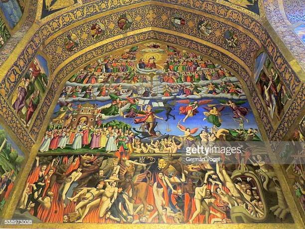 From hell to heaven in Armenian church of Iran