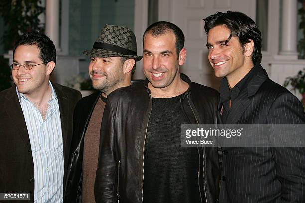 From Jake in Progress actors Ian Gomez Rick Hoffman and John Stamos arrive at the ABC's Winter Press Tour Party on Wisteria Lane on January 23 2004...