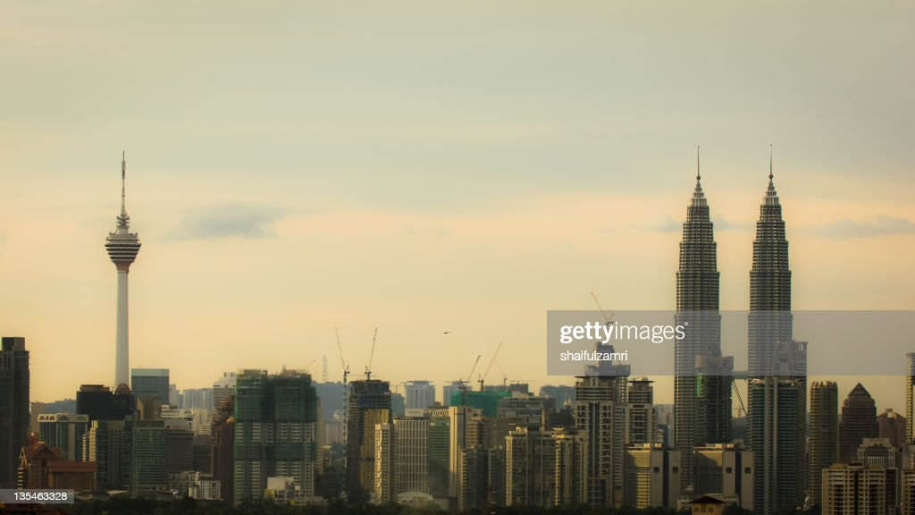 From Kuala Lumpur with love : Stockfoto