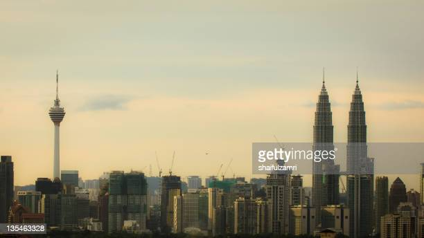 from kuala lumpur with love - shaifulzamri stock pictures, royalty-free photos & images