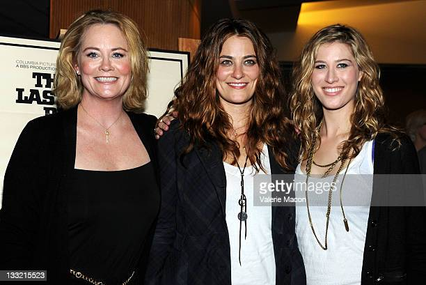 From L to R Actress Cybill Shepherd and daughters Clementine Ford and Ariel Shepherd Oppenheim attend the The Academy Of Motion Picture Arts And...