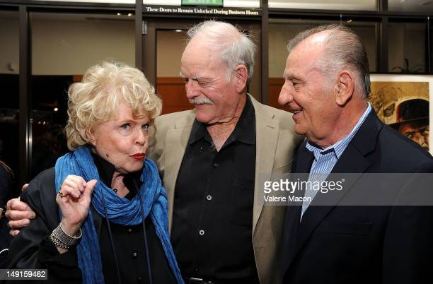 From L to R Evans Evans Frankenheimer John Stephens and Otto Nemenz attend The Academy Of Motion Picture Arts And Sciences' Last 70mm Film Festival...