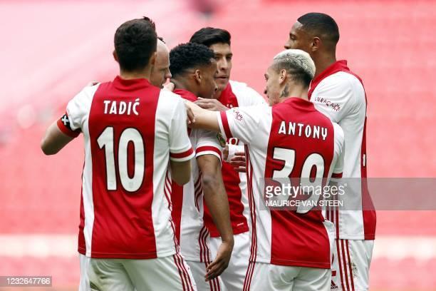 - Ajax teammates Serbian forward Dusan Tadic, Dutch midfielder Davy Klaassen, Dutch defender Jurrien Timber, Mexican defender Edson Alvarez,...