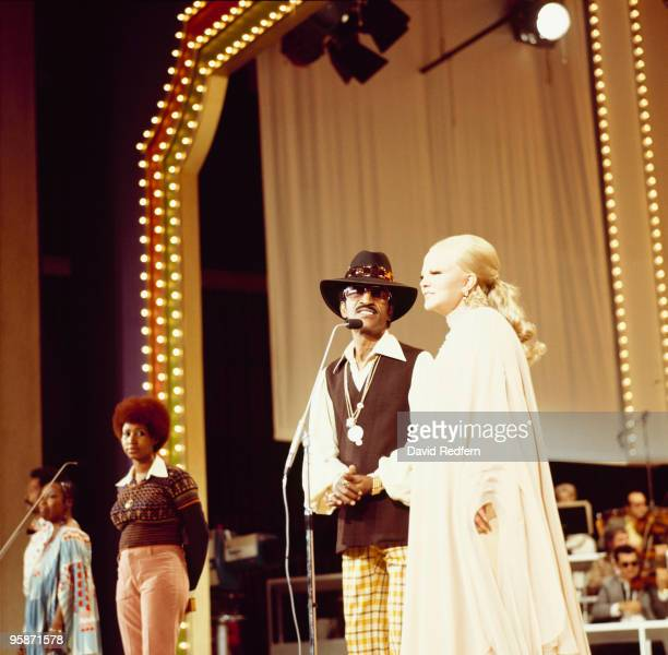 Aretha Franklin Sammy Davis Jr and Peggy Lee perform at the 'We Love You Madly' Duke Ellington tribute television show filmed in Hollywood on January...