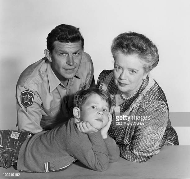 From left: Andy Griffith ; Ron Howard and Frances Bavier . Image dated August 27, 1960. Andy Griffith;Ron Howard;Frances Bavier