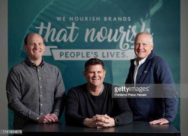 From left Anthony DeBery Kevin Moehlenkamp and Matt Stiker are heading up the advertising agency Garrand Moehlenkamp after founder Brenda Garrand...