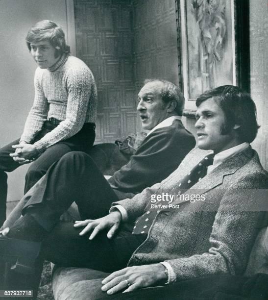 From left are Rick Bugdanowitz, Bob Loup and Gary Antonoff. Credit: Denver Post