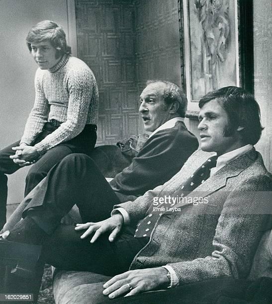 From left are Rick Bugdanowitz, Bob Loup and Gary Antonoff.;