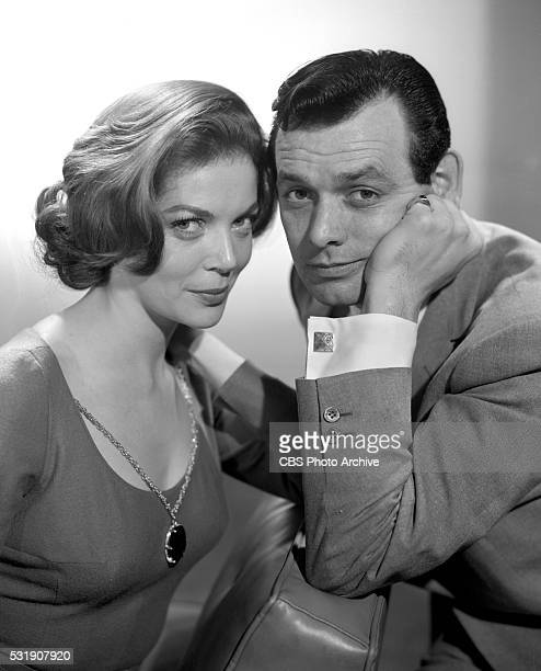 From left Barbara Bain and David Janssen for the CBS television program Richard Diamond Private Detective Image dated January 24 1959 Los Angeles CA