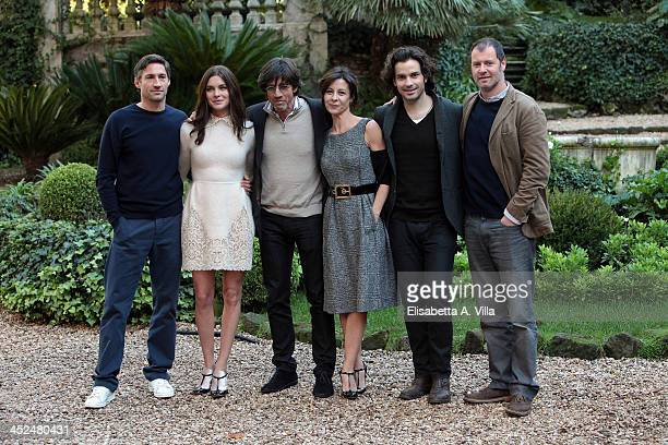 From left Benjamin Sadler Vittoria Puccini director Christian Duguay Carlotta Natoli Santiago Cabrera and Pietro Sermonti attend 'Anna Karenina'...