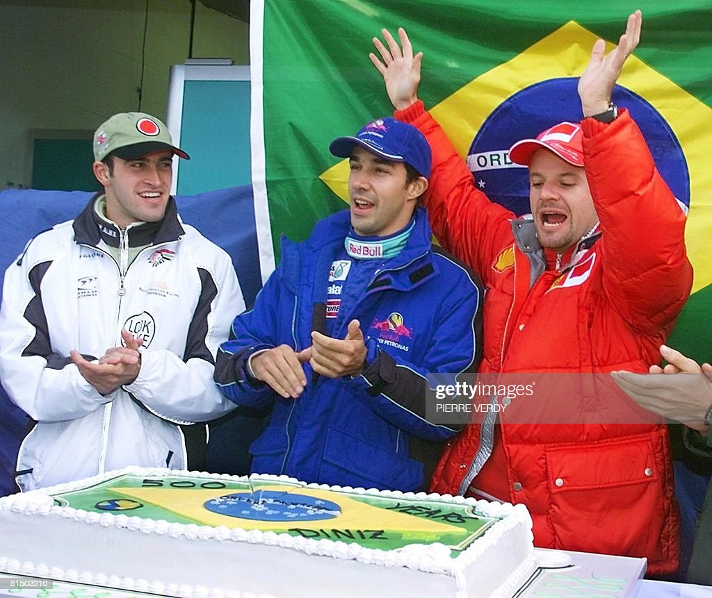 From left: Brazilian Bar-Honda driver Ricardo Zont : News Photo
