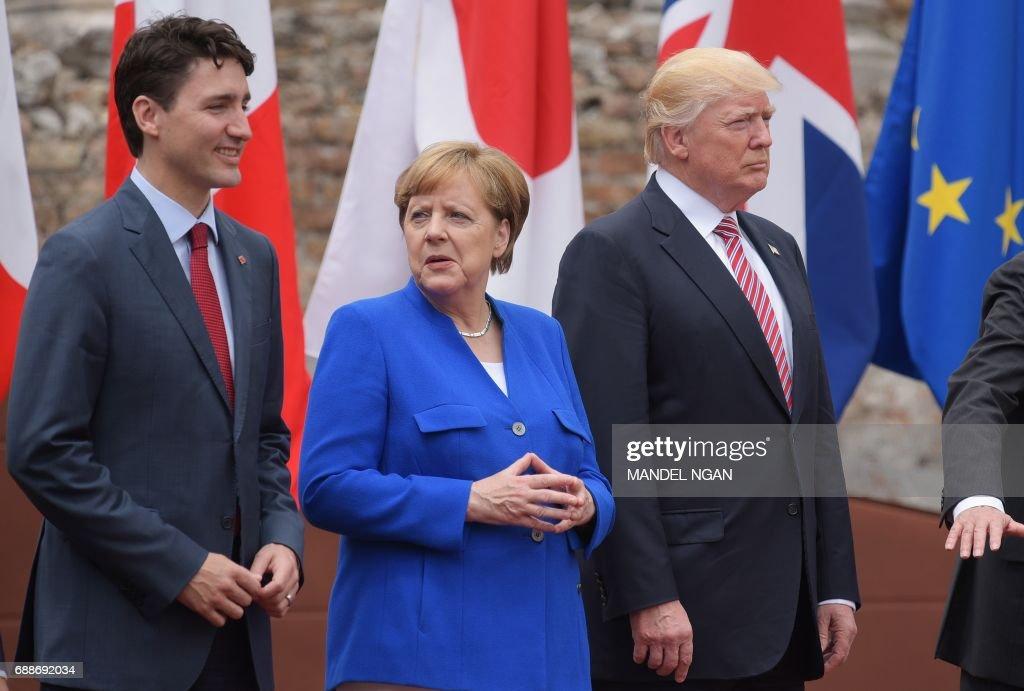 ITALY-G7-SUMMIT : News Photo