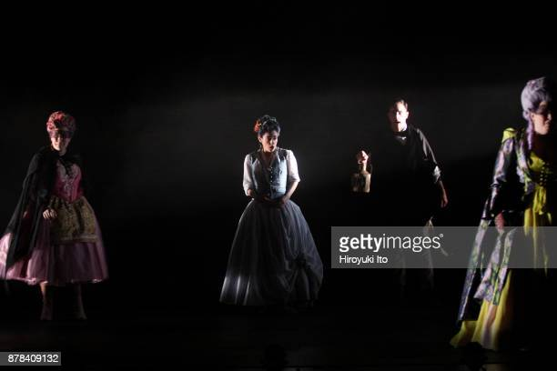 From left Christine Taylor Price Tamara Banjesevic Jacob Scharfman and Kathryn Henry in Mozart's La finta giardiniera by the Juilliard School at...