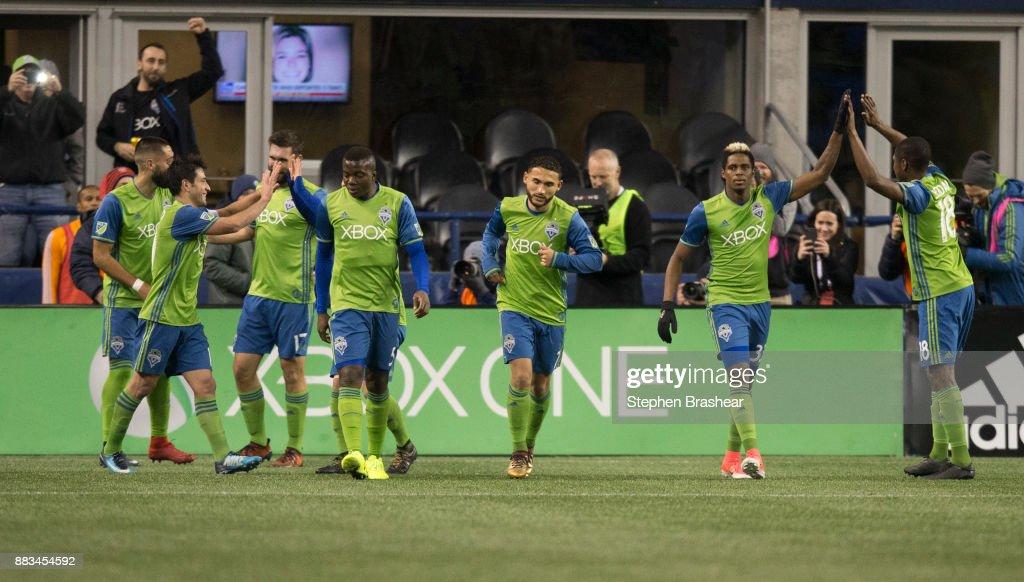 Houston Dynamo v Seattle Sounders Western Conference Finals - Leg 2 : News Photo