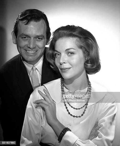 From left David Janssen and Barbara Bain for the CBS television program Richard Diamond Private Detective Image dated January 24 1959 Los Angeles CA