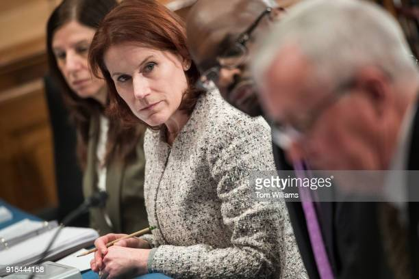 From left DHS Deputy Secretary Elaine Duke DHS Under Secretary for Management Claire Grady George A Scott Managing Director Homeland Security and...