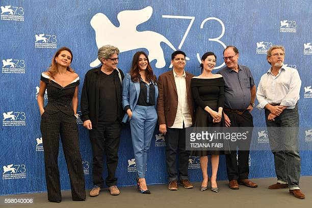 Egyptian actress Nelly Karim director Jose Maria Prado Italian actress Valentina Lodovini Indian director Chaitanya Tamhane South Korean actress Moon...
