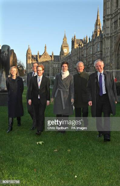 From left Elizabeth Truss MP South West Norfolk George Freeman MP MidNorfolk Ben Gummer MP Ipswich Chloe Smith MP Norwich North Henry Bellingham MP...