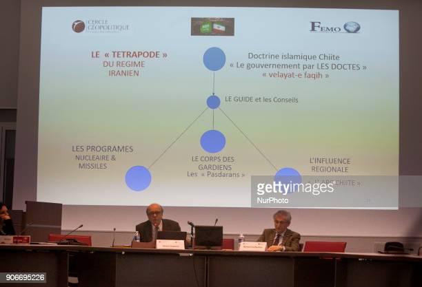 Gerard Vespierre and Bernard Guillochon, Paris, Universite Dauphine, - Gerard Vespierre, Associate Researcher at the Fondation d Etudes pour...
