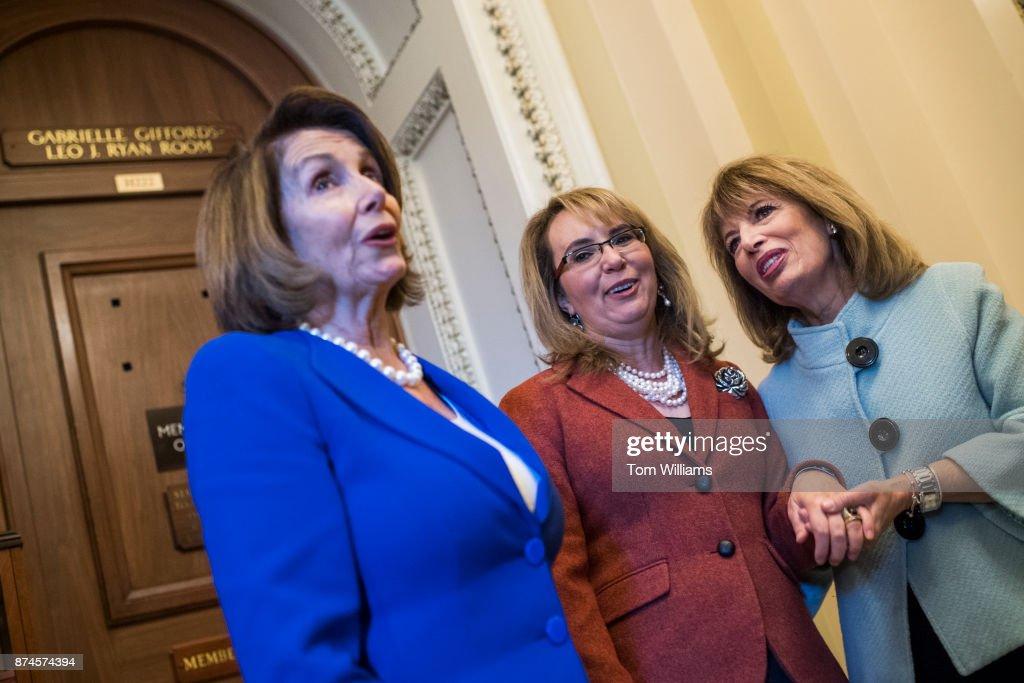 House Democratic Cloakroom : News Photo