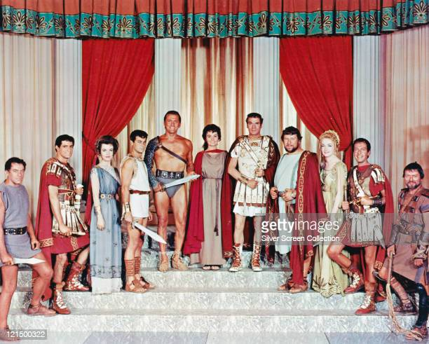 John Ireland US actor John Gavin US actor Nina Foch US actress Tony Curtis US actor Kirk Douglas US actor Jean Simmons British actress Laurence...